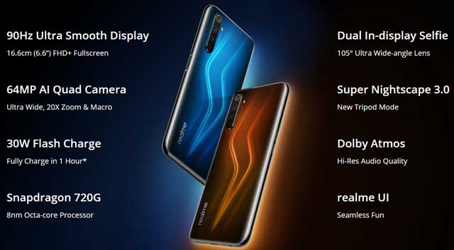 realme 6 pro features, details and launch date in india