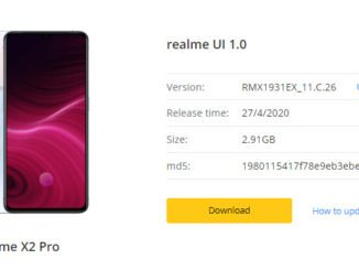 realme ui 1.0 update for realme x2 pro apr 2020