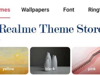 realme theme store