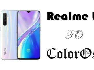 switch back to coloros after updating to realme ui 1.0