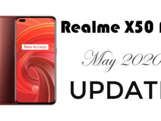 realme x50 pro RealmeUI V1.0 update download