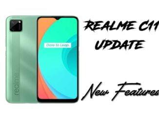 realme c11 update