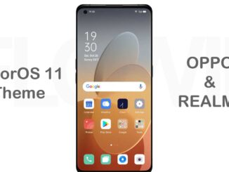 coloros 11 theme for oppo realme