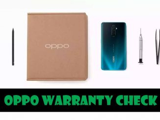 oppo warranty check india online